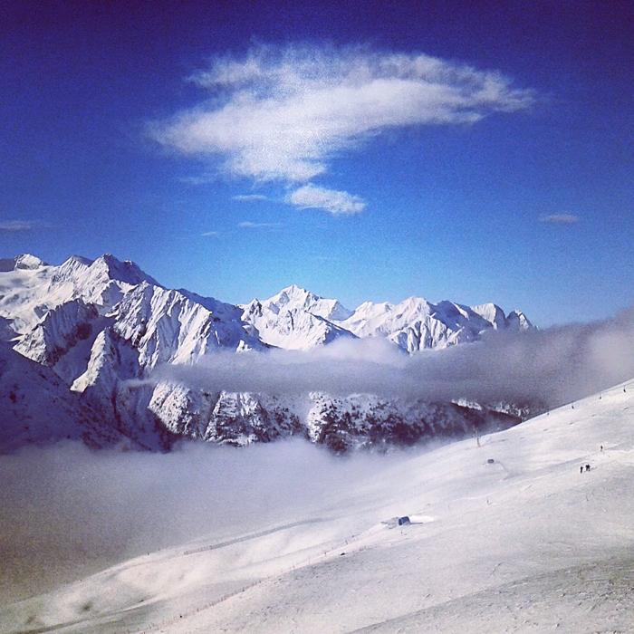 Tonale - niesamowite górskie widoki