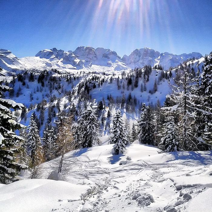Marilleva, piękna zima w Marillevie