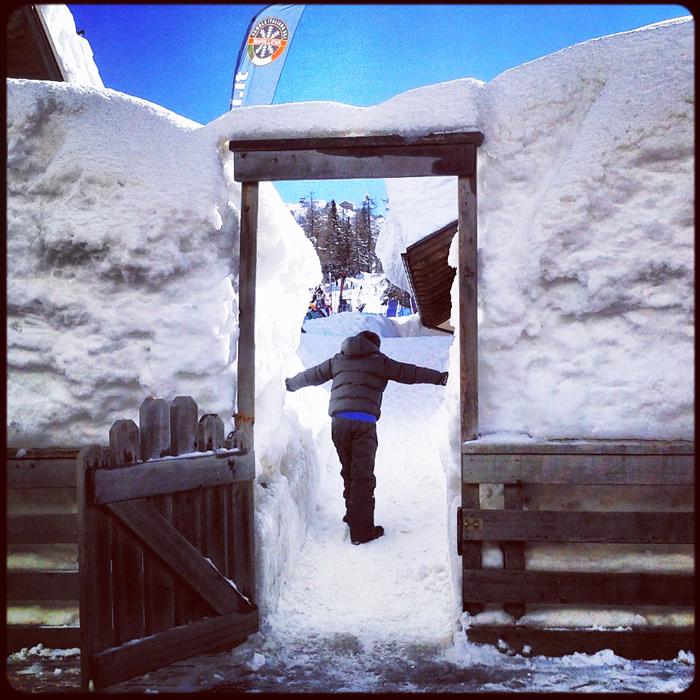 Olbrzymia ilość śniegu w górach