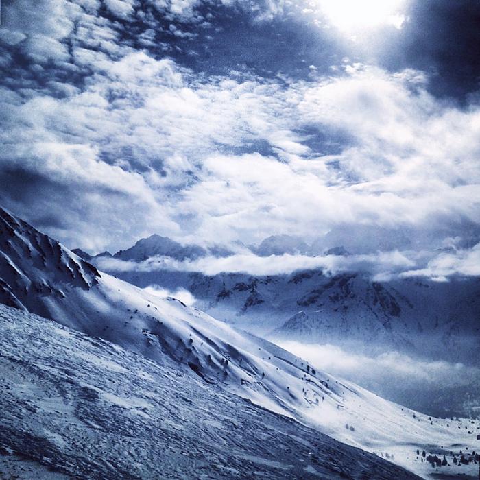 Wspaniałe widoki w Dolomitach