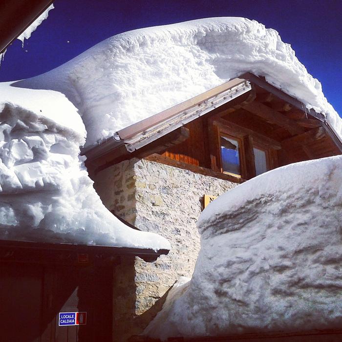 Śnieg w Val di Sole