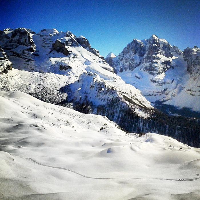 Zima w Madonna di Campiglio