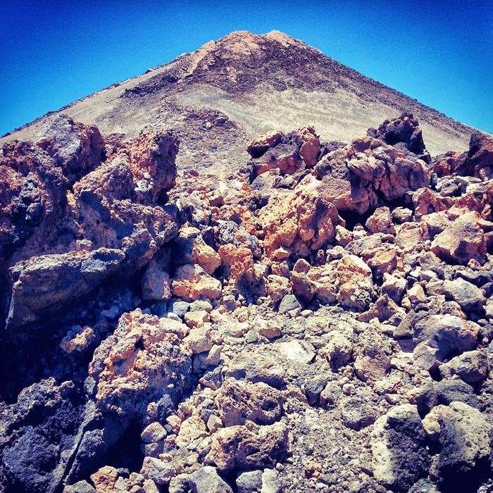 Teneryfa - krajobrazy wulkaniczne