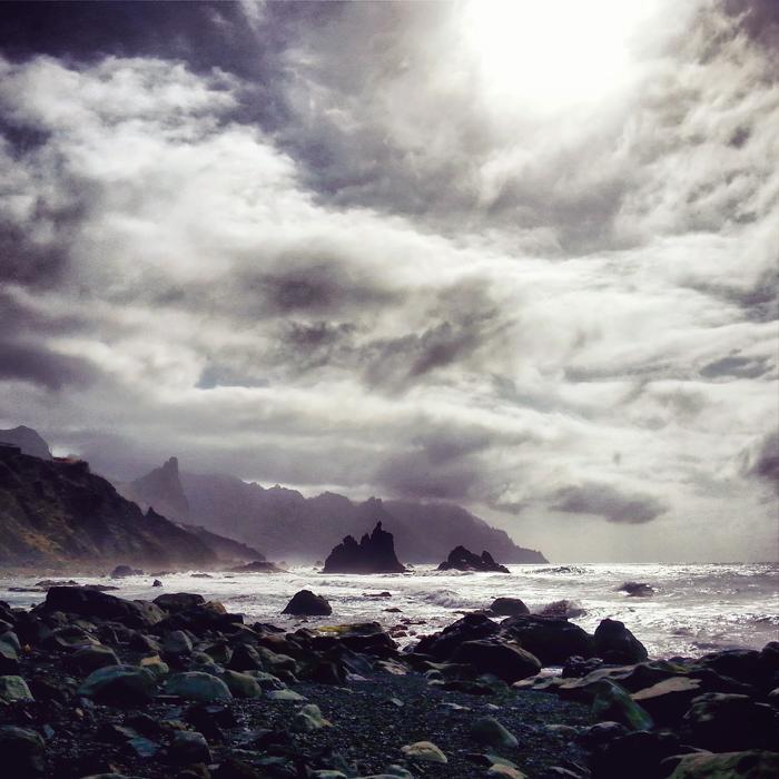 Plaże i widoki na Teneryfie