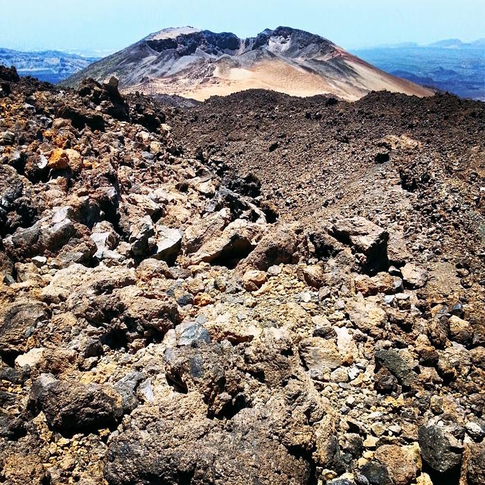 Krater wulkaniczny - Pico viejo, Teneryfa