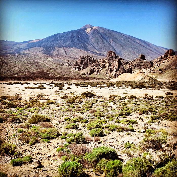 Park Narodowy Teide, widok na wulkan