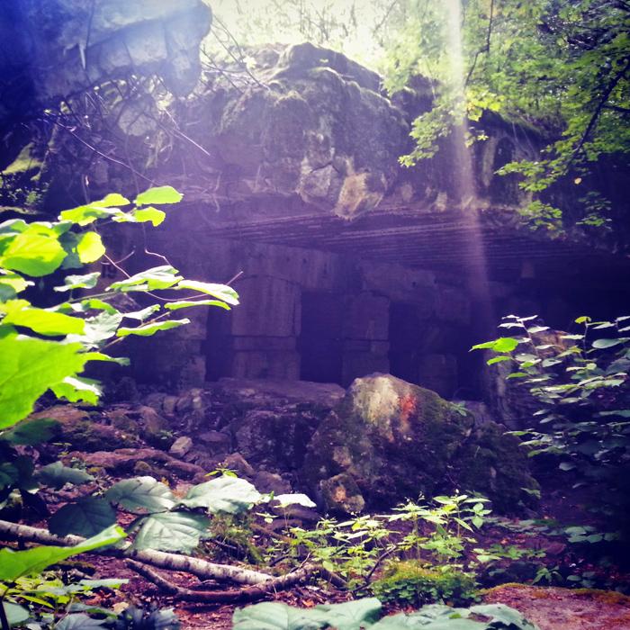 Ruiny w Wilczym Szańcu