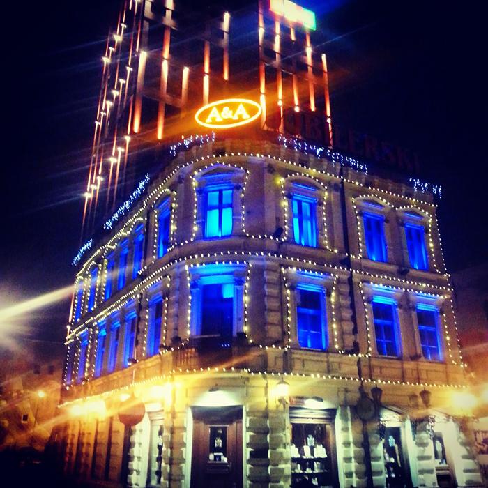 Noc w Łodzi