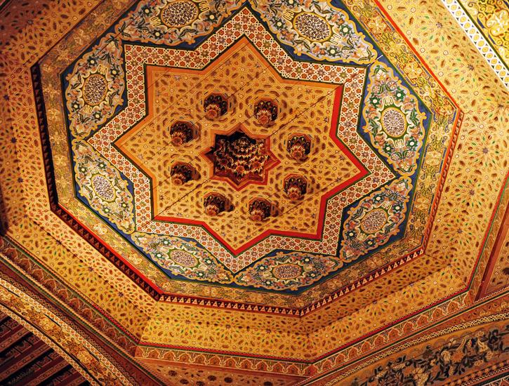 Zabytki w Maroko, Marrakesz Pałac Bahia