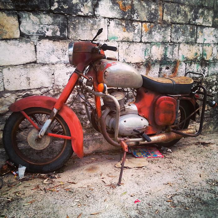 Klasyczne motory: Jawa