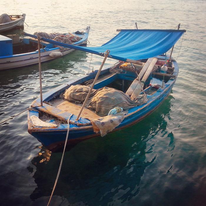 Turecka łódź rybacka