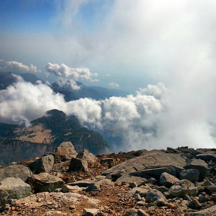 Góra Babadag, szczyt