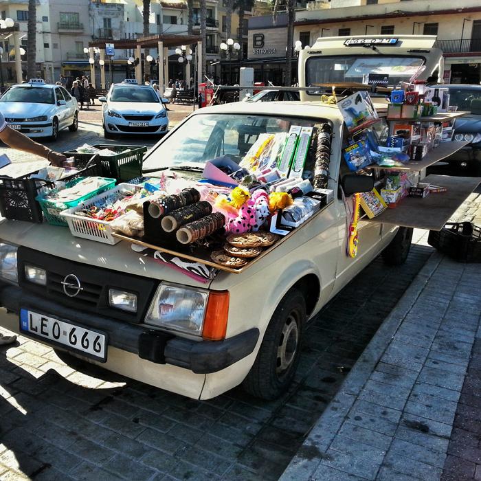 Samochód sklep, Bugibba