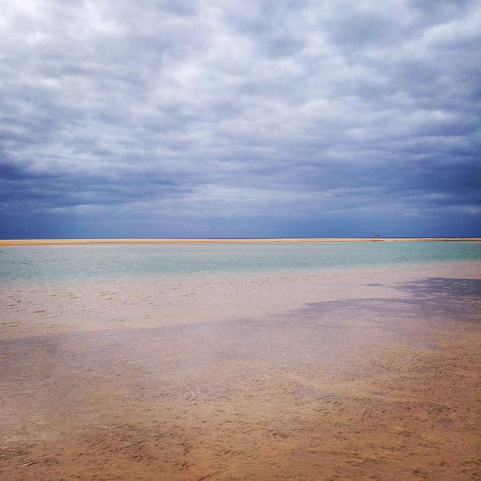 Odpływ - woda wraca do oceanu