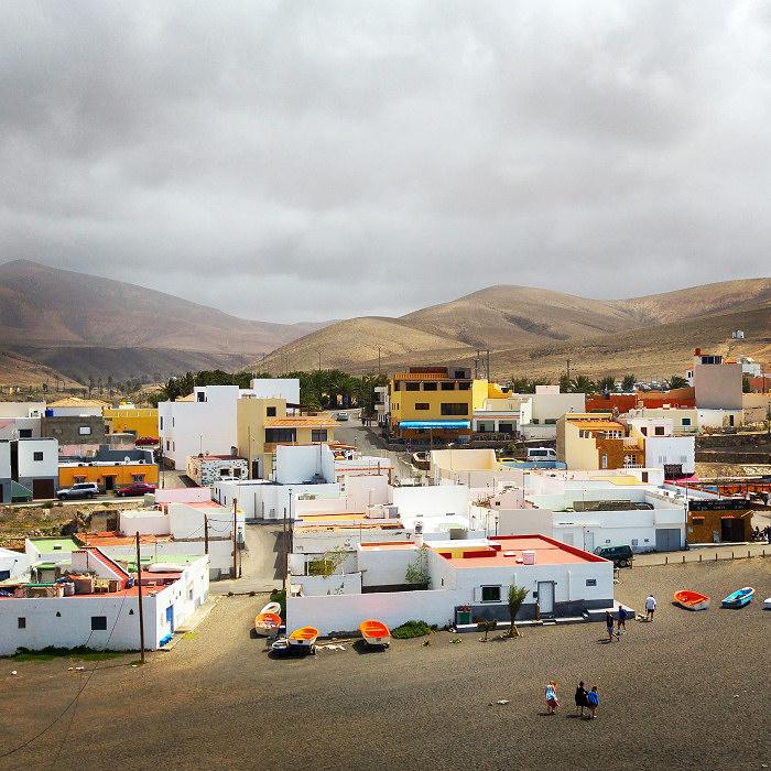 Miejscowość przy plaży