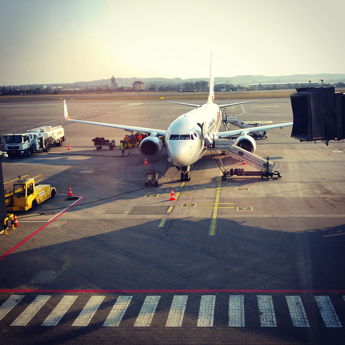 Samolot już czeka