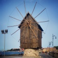 The Windmill of Nessebar