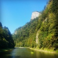 Kayaking on the Dunajec