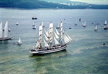 De vier schepen