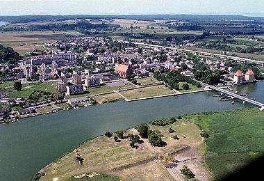 Wolin, aerial photography