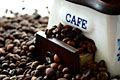 Grãos de caf� - fotos