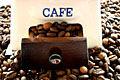 Moinho de caf� - stock Fotografia