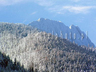 Giewont - Winter foto's