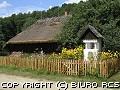 Skansen w Sanoku - wiejska chata