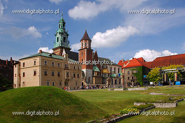 Castillo real en Cracovia