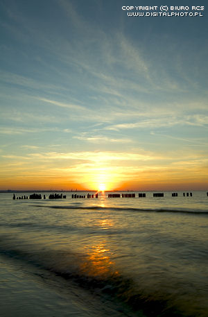Cuadro de la puesta del sol