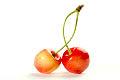 Frutas: cerezas
