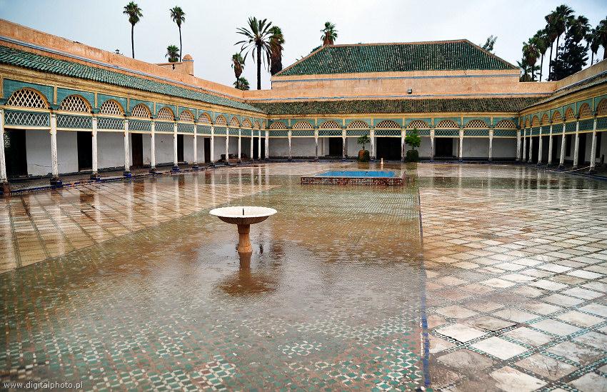 Marrakech, Palácio do Sultão, Bahia palácio, harém