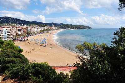 Fotos de Lloret de Mar, playa de Lloret de Mar