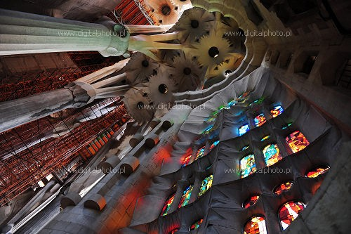 Sagrada Familia - interno