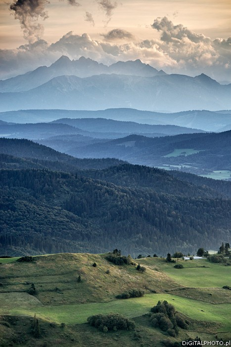 Tatra Mountains, mountain landscapes