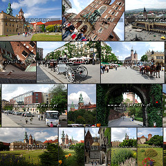Pictures of Cracow, Poland
